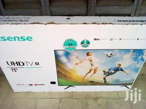 Hisense 75 Inches Smart Led Full HD Televisions   TV & DVD Equipment for sale in Lagos State, Ojo