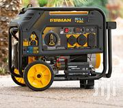 Firman Electric Start Gas or Propane Dual Fuel Portable Generator | Electrical Equipment for sale in Lagos State, Magodo