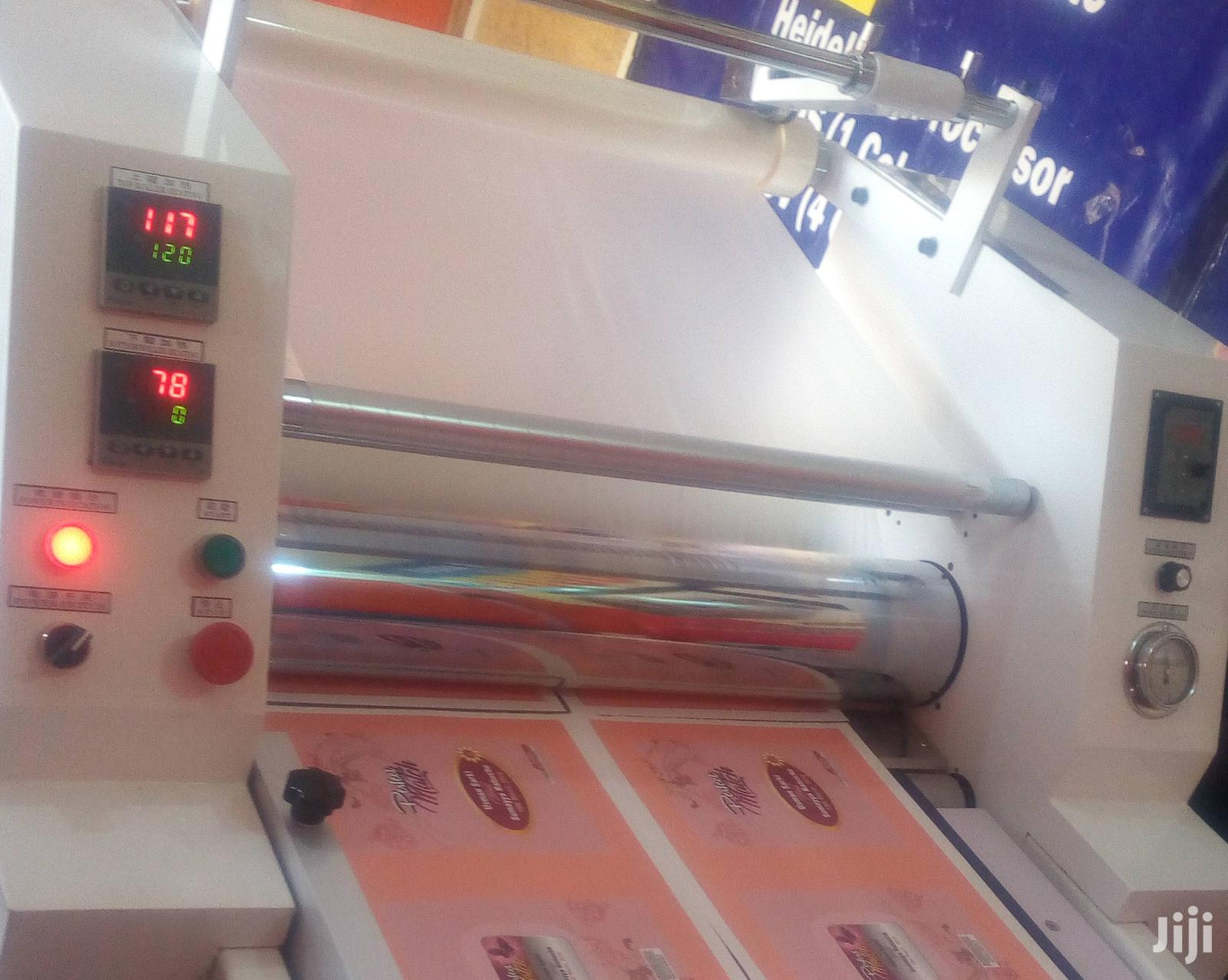 Industrial Hydraulic Double Sided Lamination Machine | Manufacturing Equipment for sale in Lagos State, Nigeria