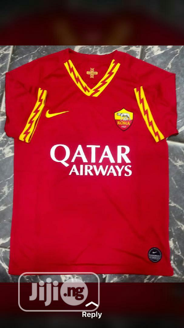 Archive: A.S Roma 19/20 Season Home Jersey