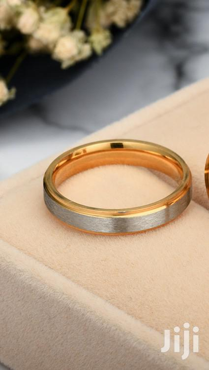 2 Tone Stainless Steel Wedding Rings At A Very Cheap Price | Wedding Wear & Accessories for sale in Ojodu, Lagos State, Nigeria