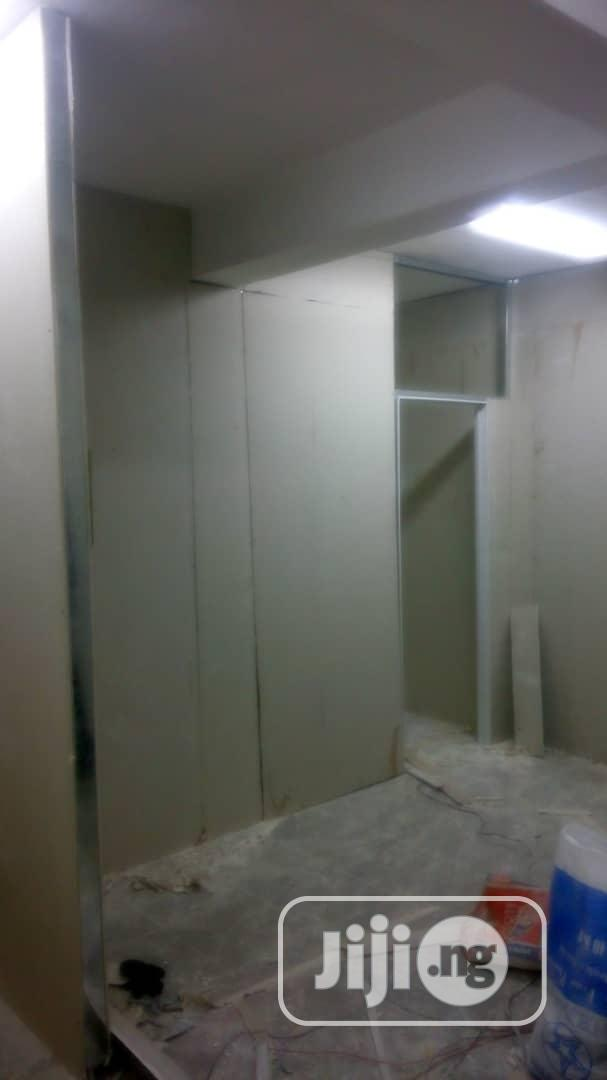 Plaster Wall Partition