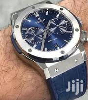 Blue Face Chronograph Designer Wristwatch by HB | Watches for sale in Lagos State, Lagos Island