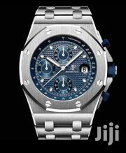 Blue Face Pure Stainless-Steel Designer's Watch by Audemars Piguet | Watches for sale in Lagos State, Lagos Island