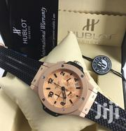HB Geneve Super Grade Designer's Wrsit Watch With Rubber Strap | Watches for sale in Lagos State, Lagos Island