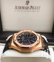 Rosegold Color Designer's Leather Strap Watch by Audemars Piguet | Watches for sale in Lagos State, Lagos Island