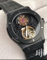Black Face Mechanical Engine Designer's Strap Watch by HB | Watches for sale in Lagos State, Lagos Island