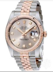 Classic Gold Silver Designer's Wrist Watch by Rolex | Watches for sale in Lagos State, Lagos Island