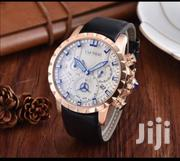 Gold With White Face Chronograph Designer Watch by Cartier | Watches for sale in Lagos State, Lagos Island