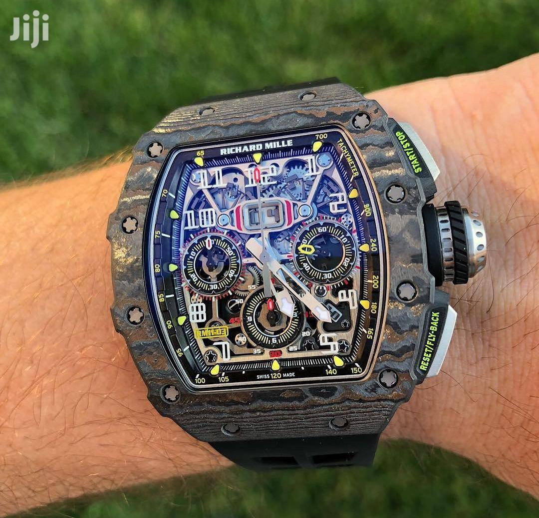 Rough Camouflage Face Design Engine Watch by Richard Mille