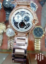Original Brand Roundface Chronograph Men's Watch by Cartier | Watches for sale in Lagos State, Lagos Island
