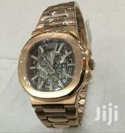 Rosegold With Blue Face Engine Designer's Watch by Patek Philipe | Watches for sale in Lagos State, Lagos Island