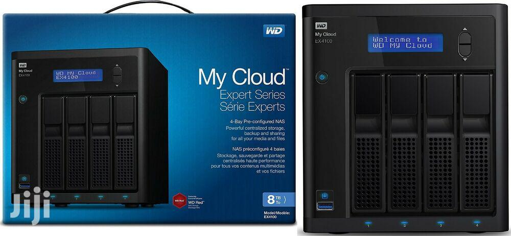 WD My Cloud 8TB Expert Series 4-bay Pre-confiured NAS   Computer Hardware for sale in Ikeja, Lagos State, Nigeria