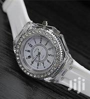 Geneva Luminous Led Watch- White | Watches for sale in Lagos State