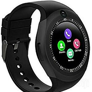 Y1 Bluetooth Smart Watch for Android Smart Wristwatch(BLACK) | Smart Watches & Trackers for sale in Lagos State, Ikeja