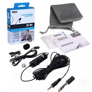 Boya BY-M1 Omni-directional Condenser Lapel Microphone   Audio & Music Equipment for sale in Lagos State, Lagos Island (Eko)