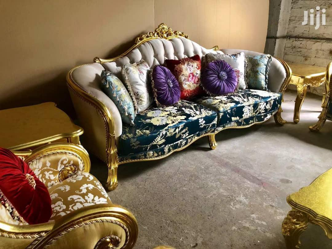 Tovic Design Royal Sofa Chairs by 7 Seaters With Center Tables   Furniture for sale in Ikeja, Lagos State, Nigeria