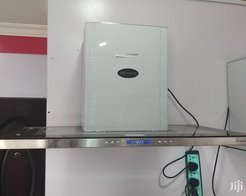 Polystar Kitchen Hood Extractor 6burner | Kitchen Appliances for sale in Benin City, Edo State, Nigeria