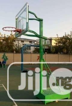 Standard Basketball Court Construction And Installion   Building & Trades Services for sale in Rivers State, Port-Harcourt