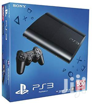 Brand New Playstation 3 + 10 Installed Games Both FIFA/Pes20   Video Game Consoles for sale in Lagos State, Oshodi