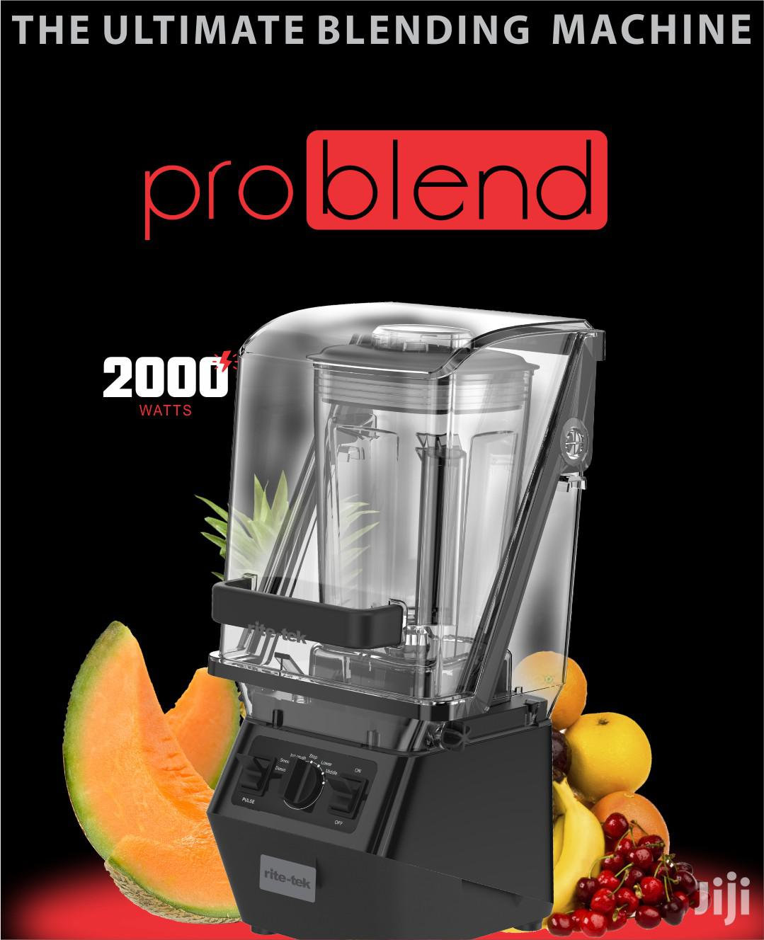 Rite Tek Pro Blend Commercial Blender With Noise Proof   Restaurant & Catering Equipment for sale in Lagos Island, Lagos State, Nigeria