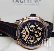 Black and Gold Face Designer Chronigraph Watch by TAGHEUER | Watches for sale in Lagos State, Lagos Island