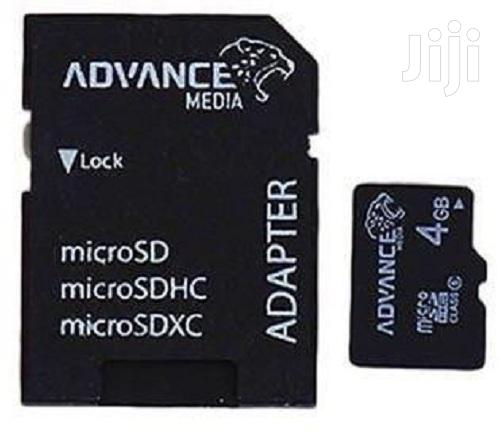 4GB Memory Card | Accessories for Mobile Phones & Tablets for sale in Ikorodu, Lagos State, Nigeria