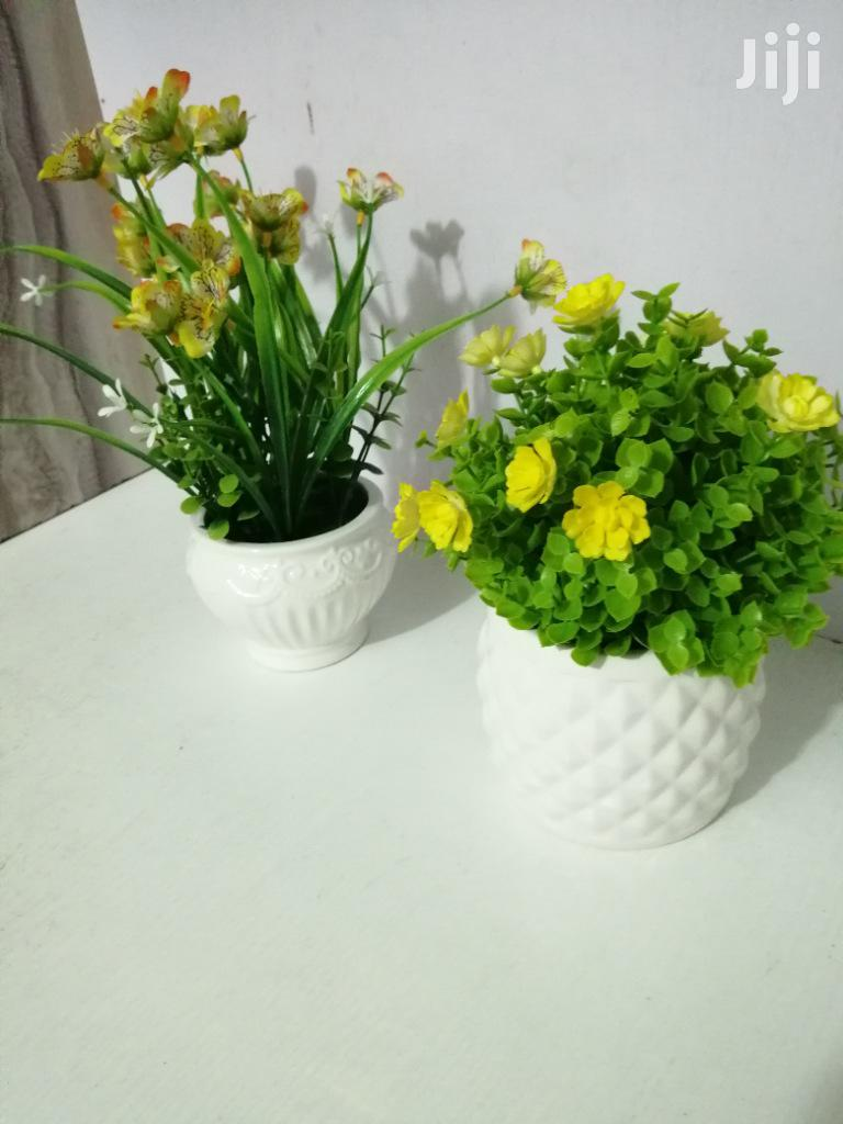 Beautiful Ceramic Mini Cup Flowers For Decorations,Make Orders Now | Garden for sale in Isolo, Lagos State, Nigeria