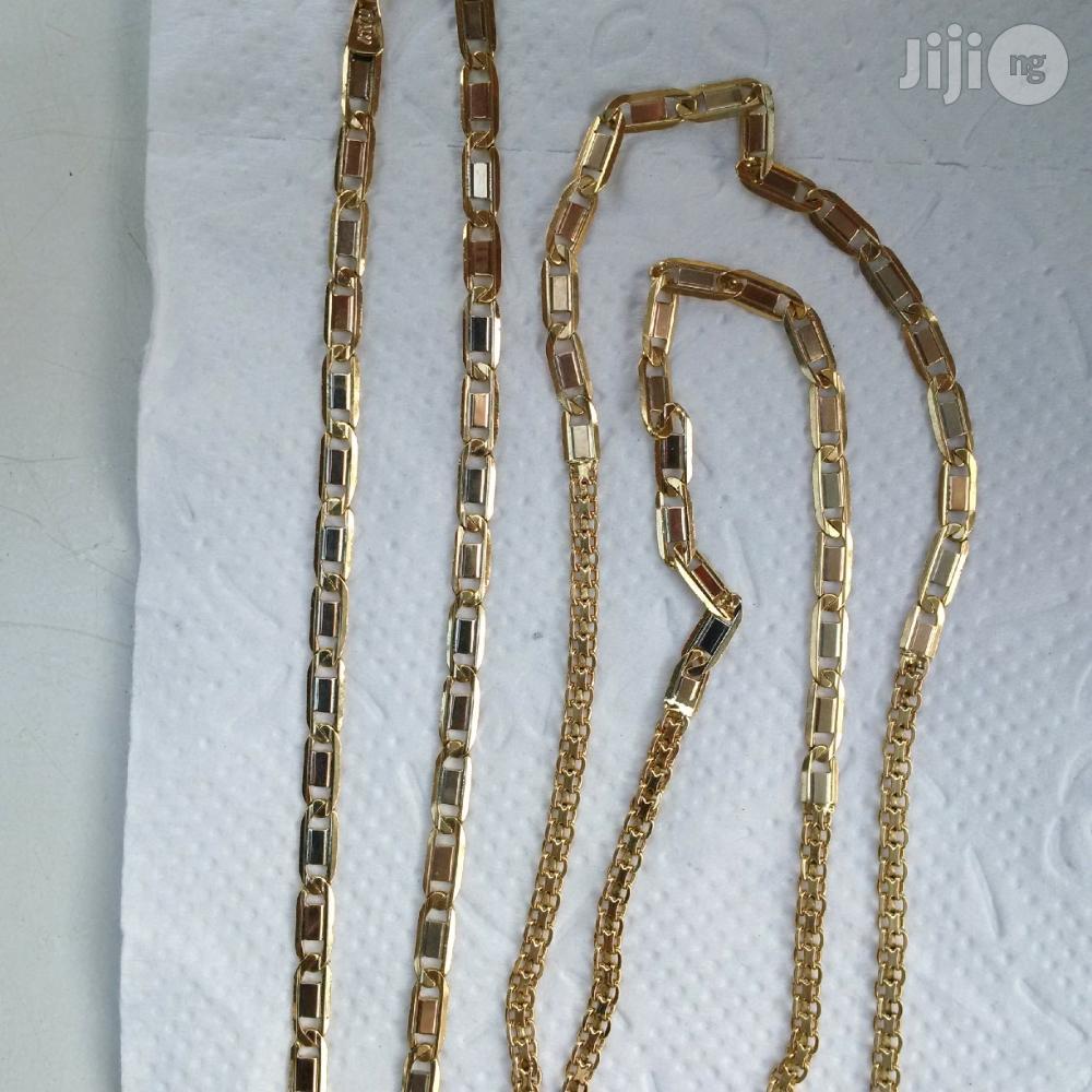 Pure 18karat Italian Gold Mixed Bladecarpet Design | Jewelry for sale in Lagos Island (Eko), Lagos State, Nigeria