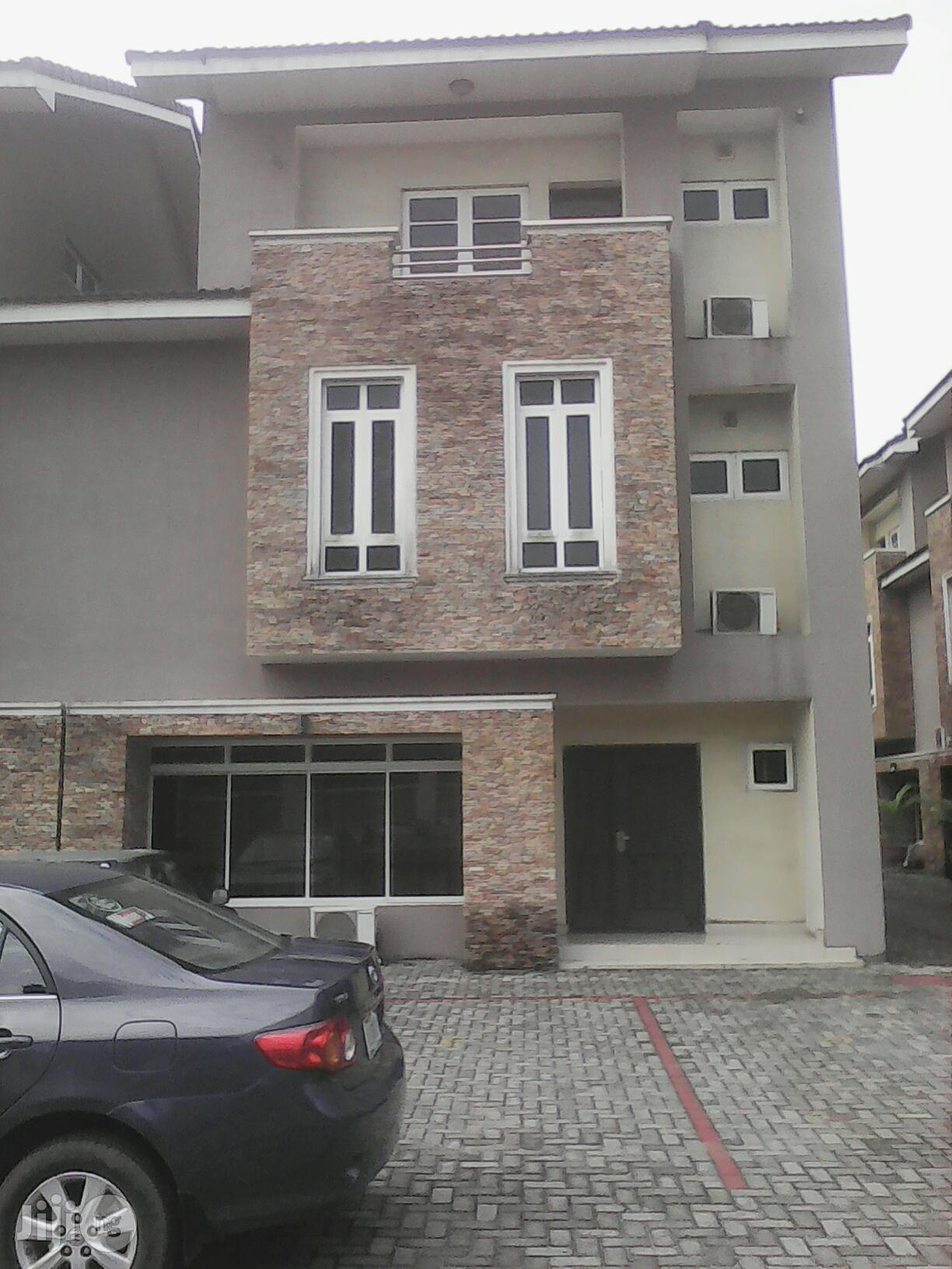 New 5 Bedrooms Service Duplex At Ikeja GRA