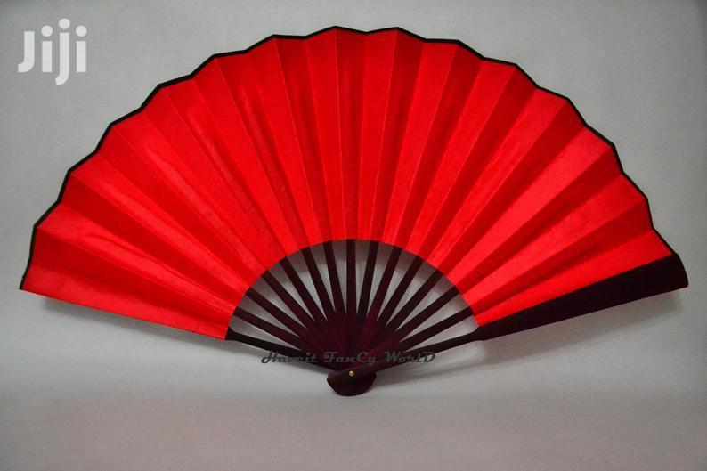 """13"""" Large Hand Fan -1dozen"""