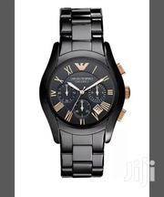 Black Ceramica Designer's Watch by G Armani | Watches for sale in Lagos State, Lagos Island