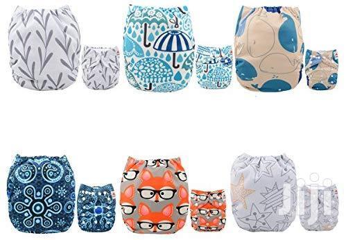 USA ALVABABY Pocket Cloth Diapers Reusable, Washable Adjustable
