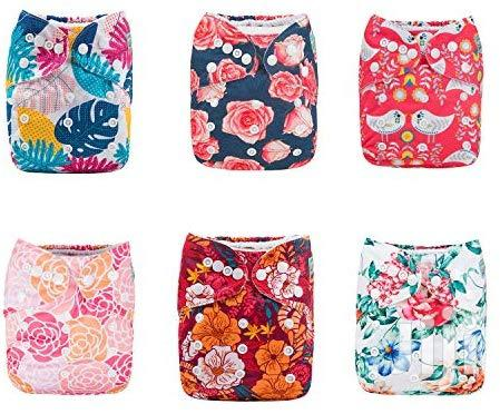 USA ALVABABY Pocket Cloth Diaper Reusable Washable Adjustable For Baby | Babies & Kids Accessories for sale in Alimosho, Lagos State, Nigeria