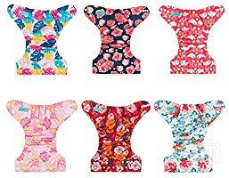 USA ALVABABY Pocket Cloth Diaper Reusable Washable Adjustable For Baby | Babies & Kids Accessories for sale in Lagos State, Alimosho