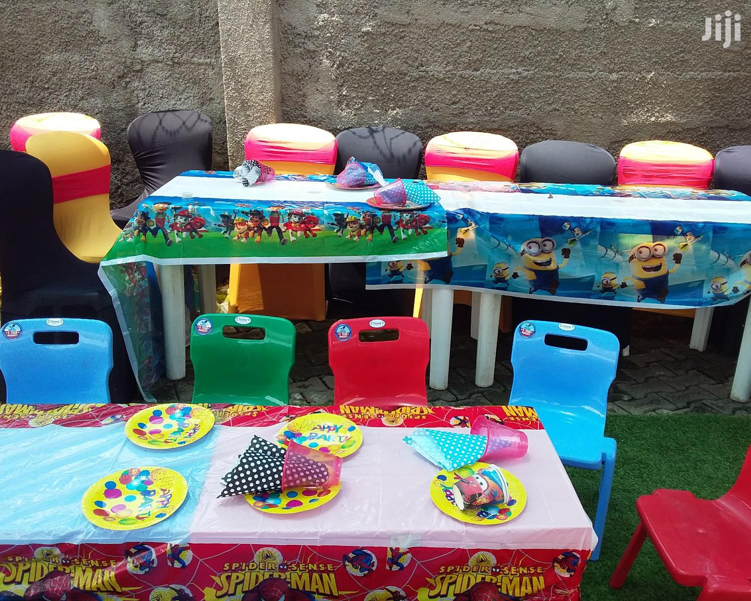Children Table And Chair Rental