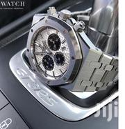 Original Brands Silver Chronograph Design AP Watch for Men of Class   Watches for sale in Lagos State, Lagos Island