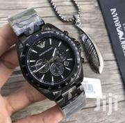 Black Camouflage Chronograph Designer's Watch by Emporio Armani | Watches for sale in Lagos State, Lagos Island