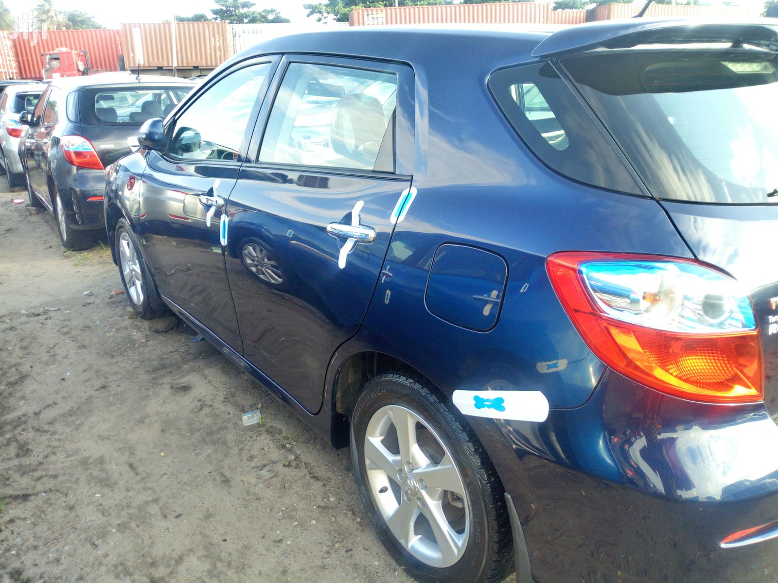 Archive Toyota Matrix 2010 Blue In Lagos State Cars Leonardo Auto Concerns Jiji Ng