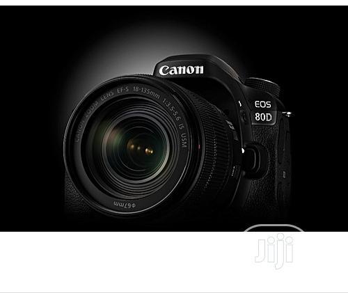 Canon Camera 80D + 18 - 135mm Lens 24.2mp