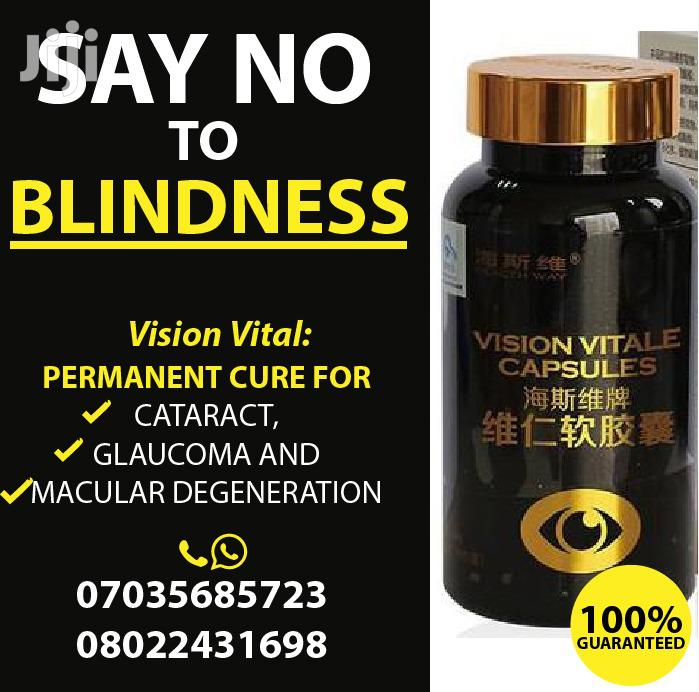 100% Total Cure for Glaucoma, Cataracts, Myopia, Blurry, Vision Vitale