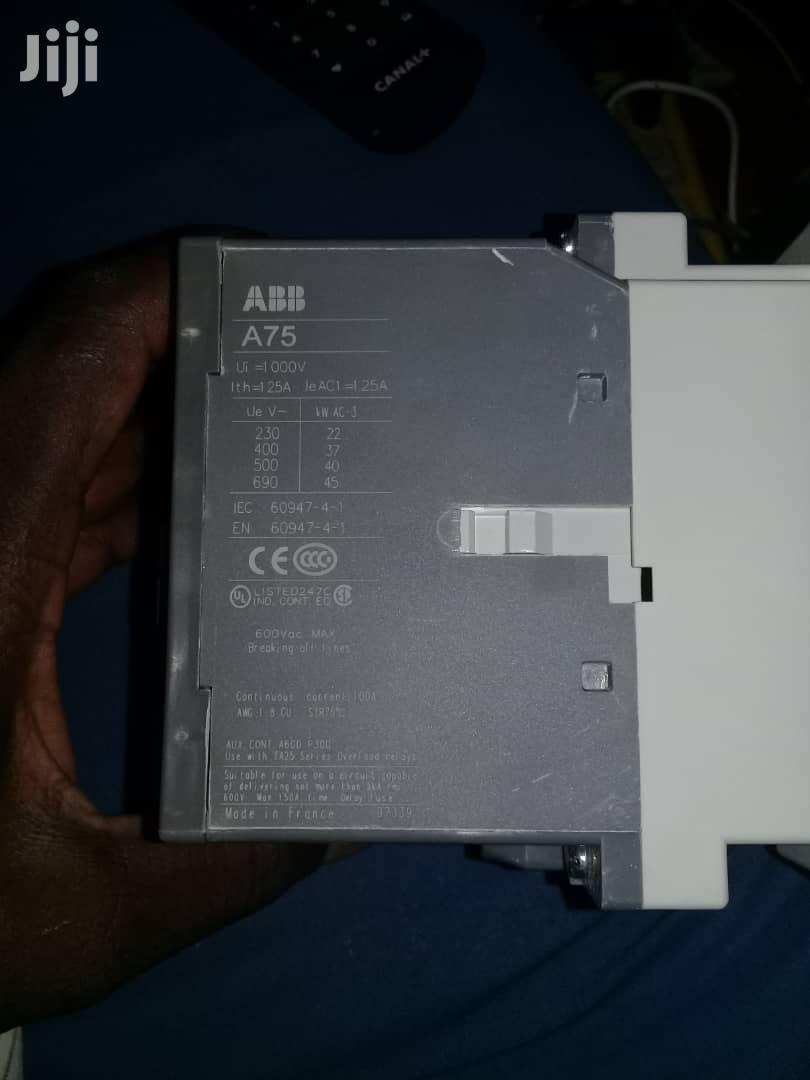 A75 Contactor (Abb) | Electrical Equipment for sale in Ojo, Lagos State, Nigeria