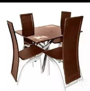 Brand New Imported 4seaters Mini Sqaure Dining Table.   Furniture for sale in Lagos State, Ojo