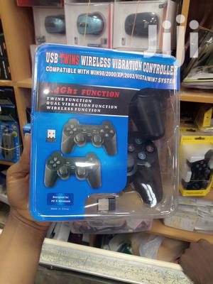 USB Twins Wireless Vibration Controller | Accessories & Supplies for Electronics for sale in Lagos State, Ikeja