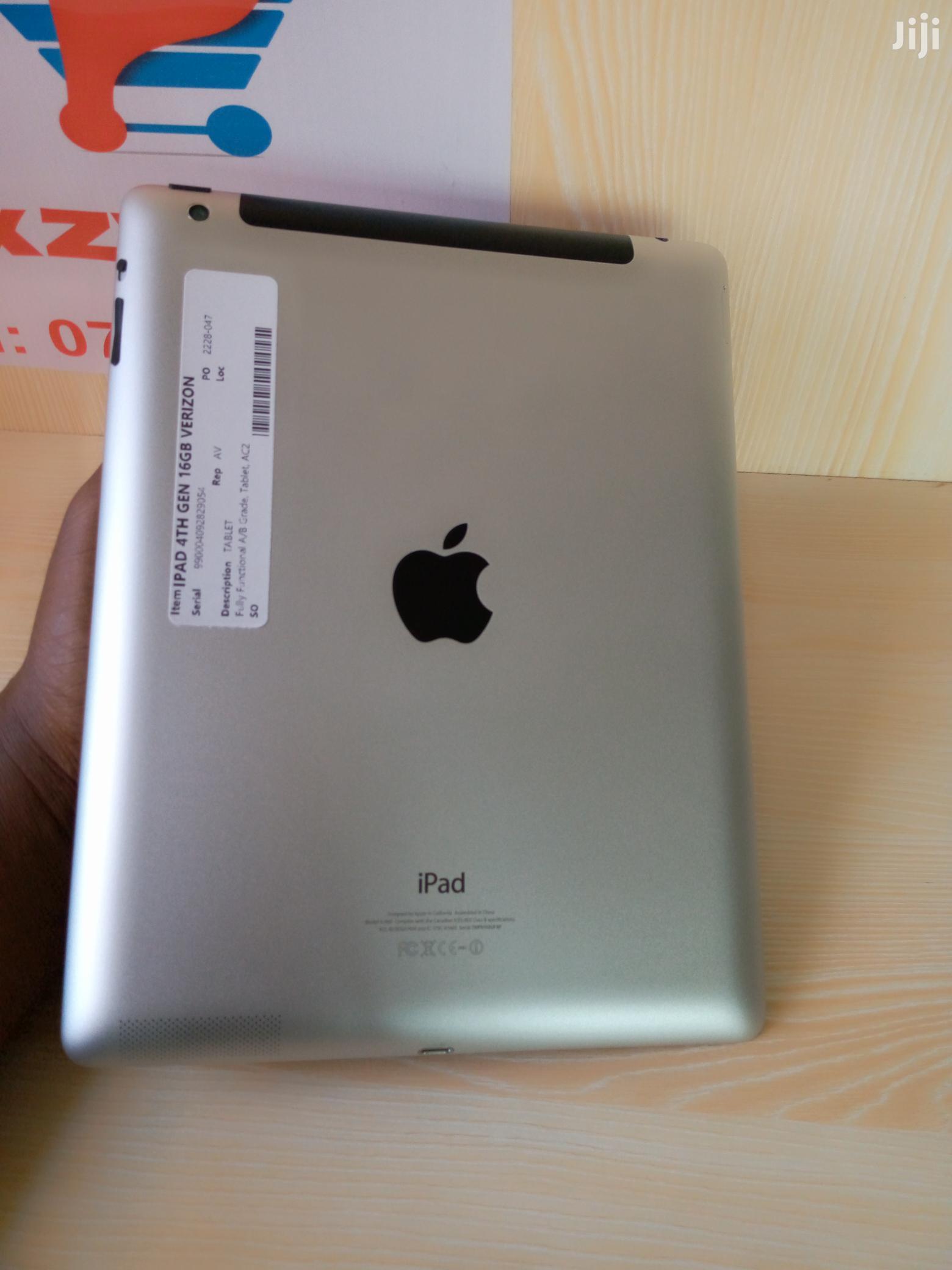 Apple iPad 4 Wi-Fi + Cellular 32 GB | Tablets for sale in Ikeja, Lagos State, Nigeria