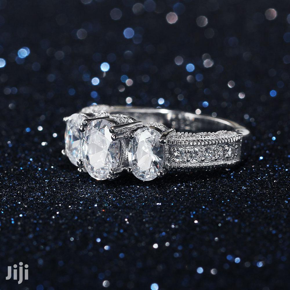 Original 925 Sterling Silver Engagement Ring,Doesn't Tarnish Nor Fade | Wedding Wear & Accessories for sale in Ojodu, Lagos State, Nigeria