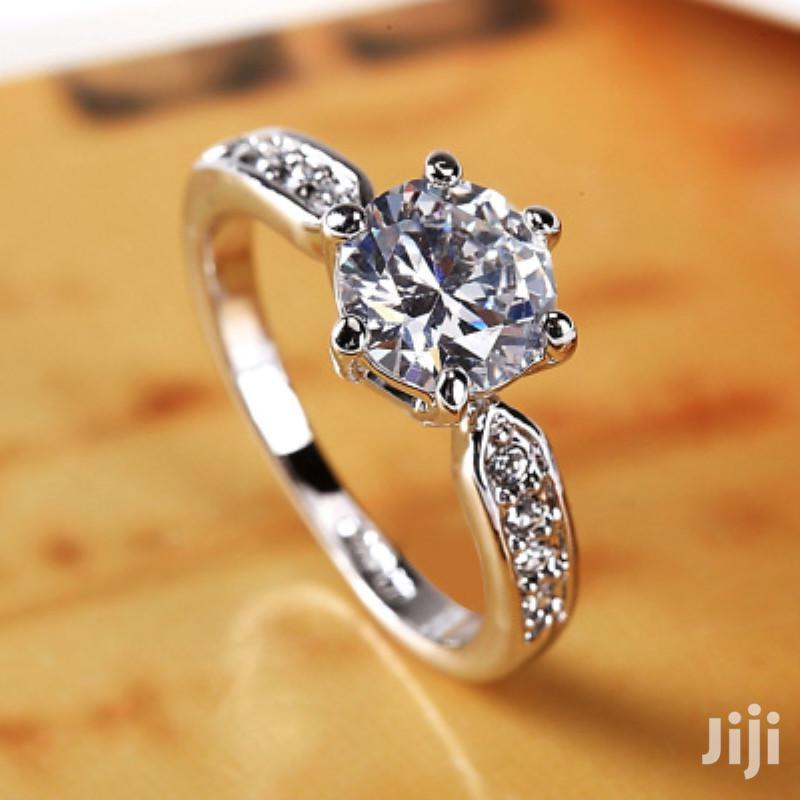 Archive: Adjustable 925 Sterling Silver Engagement Ring
