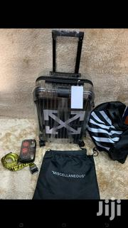 Off White Transparent Luggage | Bags for sale in Lagos State, Lagos Island