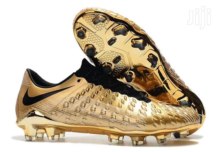 Golden Football Boots Available At