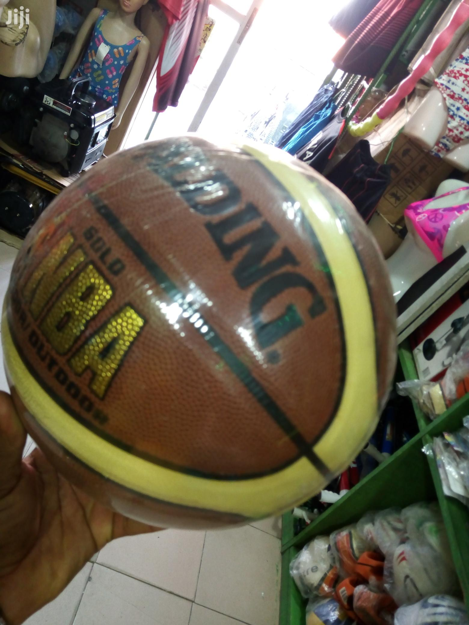 High Quality Leather Spalding Basketball   Sports Equipment for sale in Ikeja, Lagos State, Nigeria